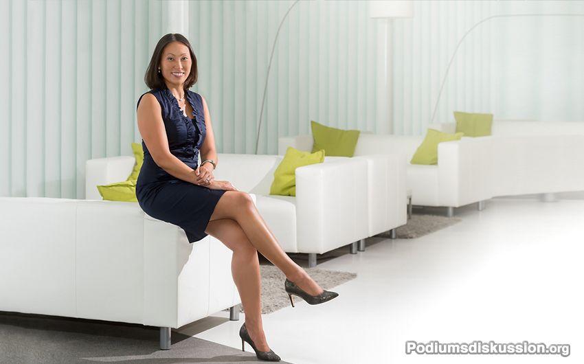 Ariane Bertz Moderatorin Podiumsdiskussion